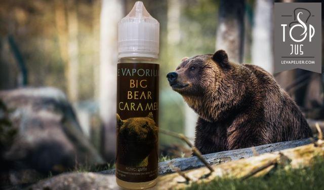 Big Bear Caramel par Le Vaporium