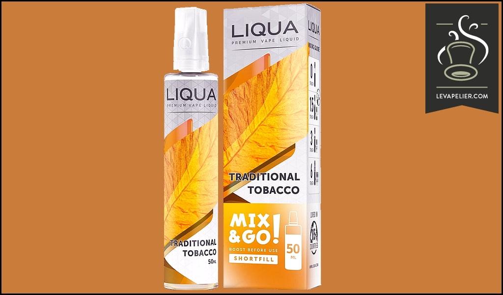 Traditional Tobacco (Mix & Go Range) by Liqua