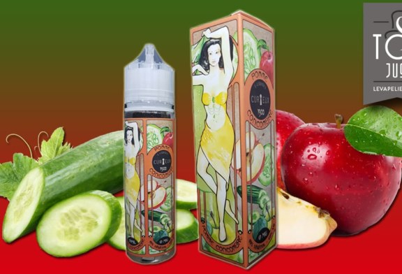 Cucumber Apple (1900 Range) by CURIEUX E-LIQUIDES