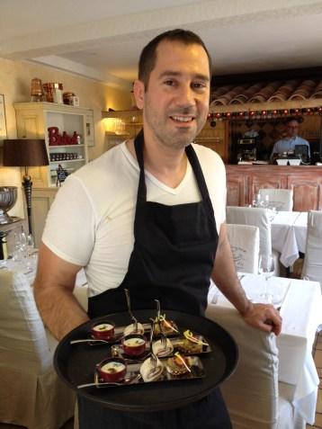 La Farigoulette, Anthony Lopez, restaurant Le Lavandou