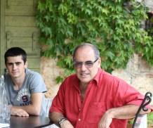 Pascal Aimé et son fils, Morgan