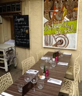 Restaurant La Table de Pôl à Lorgues
