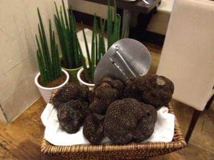 Truffe noire à La Table de Pôl à Lorgues