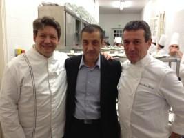 Stéphane Lelièvre, Mourad Boudjellal, Jean-Marc Banzo