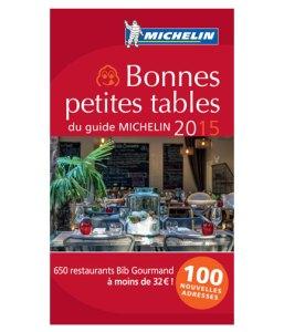 Les bonnes petites tables du Guide Michelin, Bib Gourmand 2015