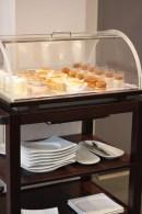 Pour le dessert, un buffet permet de faire son choix