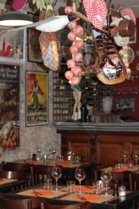 Un décor typique de bistrot