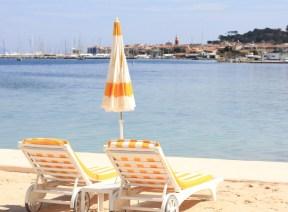 Plage de la Bouillabaisse, vue imprenable sur Saint-Tropez
