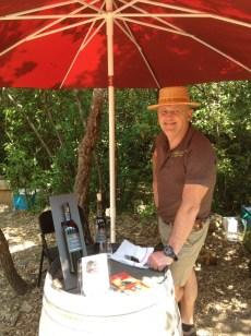 Une vingtaine de vignerons étaient présents pour partager leur passion du terroir