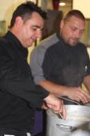 Sébastien Gaillard, restaurant La Truffe à Aups, et Benjamin Sappa, traiteur