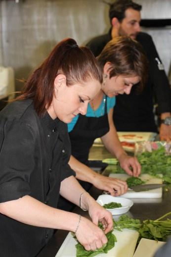 Allison, apprentie au Riviera III et Julia Viglietti, Chef Chez Daniel et Julia à La Seyne-sur-Mer