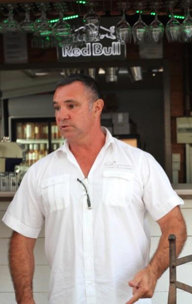 Thierry Lavergne, gérant de La Baie des Vahinés