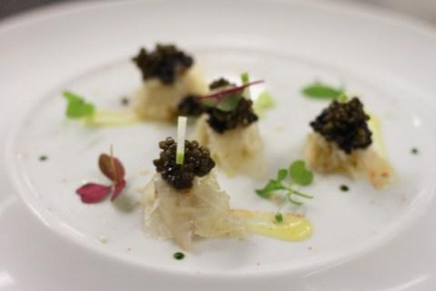 Saint-Pierre/Tourteau/Caviar, un plat emblématique de Christophe Bacquié