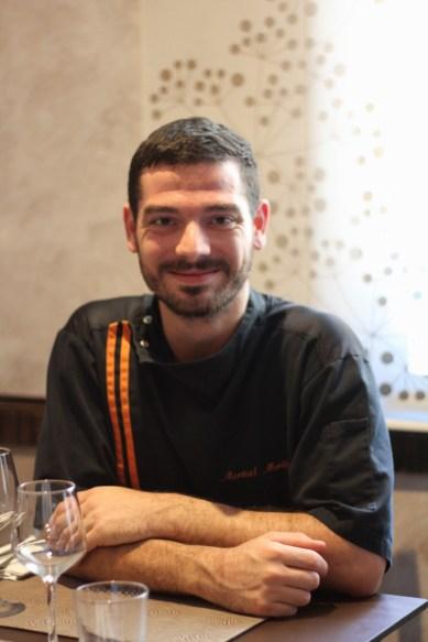 Martial Merlino, chef à l'Aromate Provençal