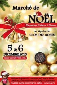 Marché de Noël au Clos des Roses à Fréjus