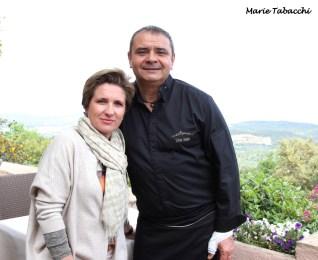 Laurence et Sylvain Humbert, Le Bello Visto à Gassin