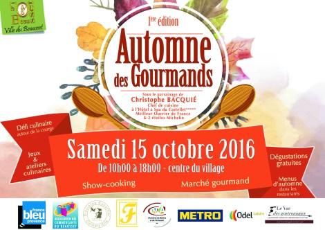 Automne des Gourmands, Le Beausset