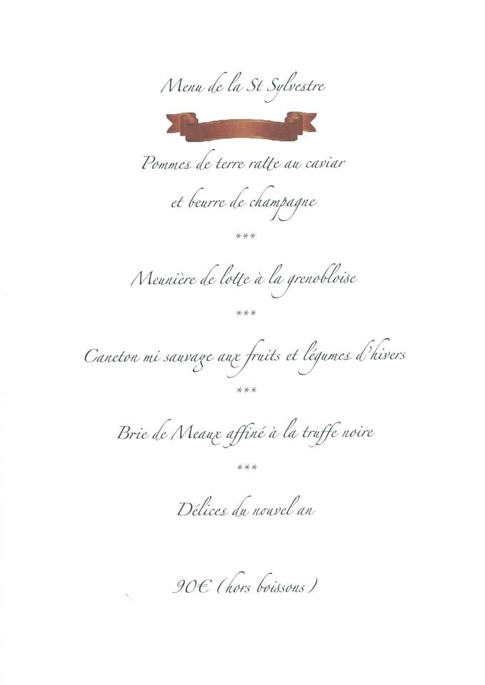 F tes o r veillonner le 31 d cembre dans le var - Restaurant la table de bruno saint maximin ...