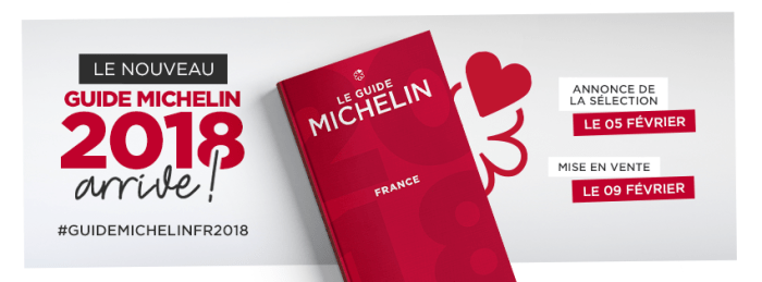 Guide Michelin 2018