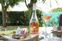 Amuse-bouche et rosé du Domaine Malherbe