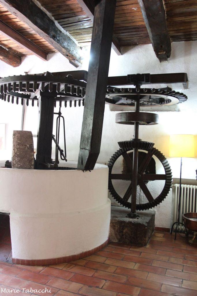 L'Escourtin, Moulin de la Camandoule, Fayence