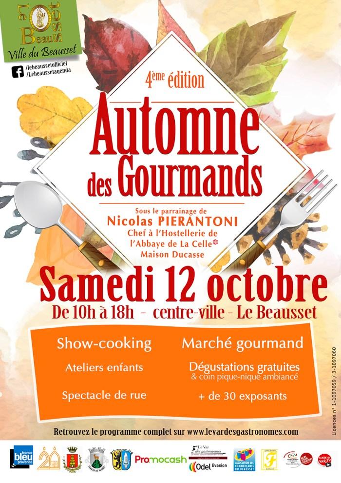 L'Automne des Gourmands 2019 Le Beausset