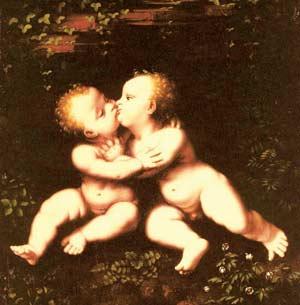 Леонардо да Винчи «Святые  младенцы»