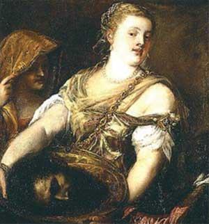 Картина Тициана «Саломе»