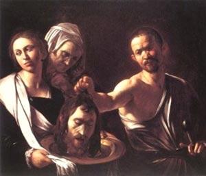 Караваджио «Убийство Крестителя»
