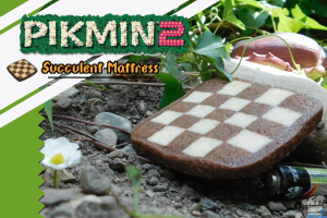 Finished recipe for the succulent mattress cookie from the Pikmin 2 video game