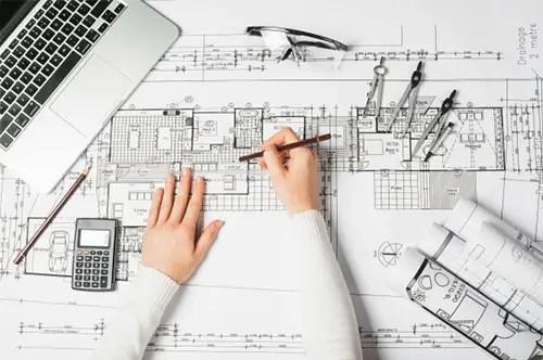 architectural design blueprint