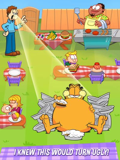garfield my big fat diet ending