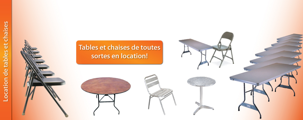 location tables chaises soiree thematique