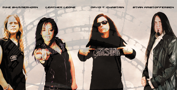 David T Chastain And Leather Leone Discuss We Bleed Metal 17