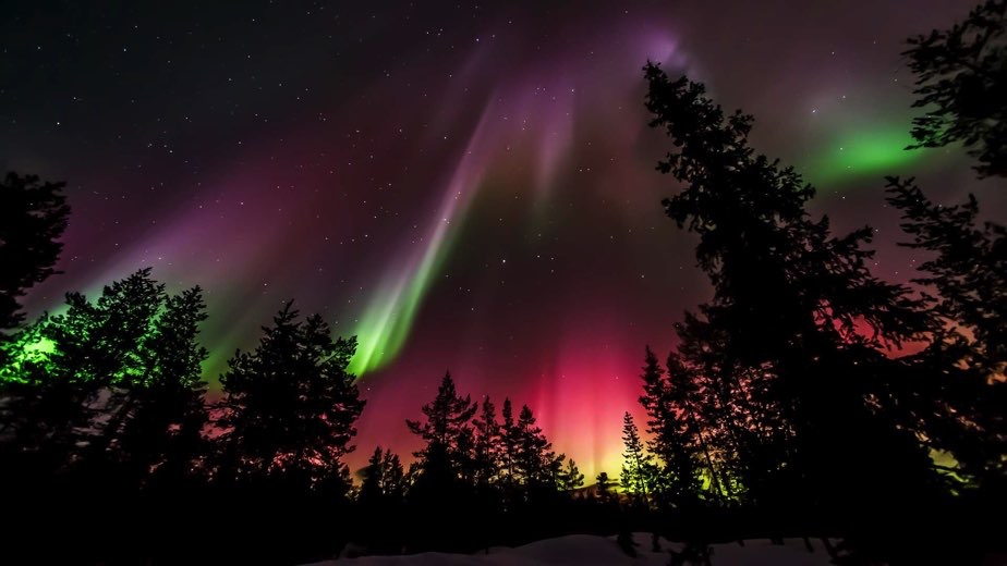 Northern Lights 2017 Usa