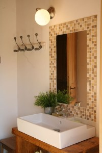Salle de bains gîte