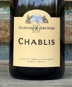 Chablis Domaine Dominique Gruhier etq 75cl