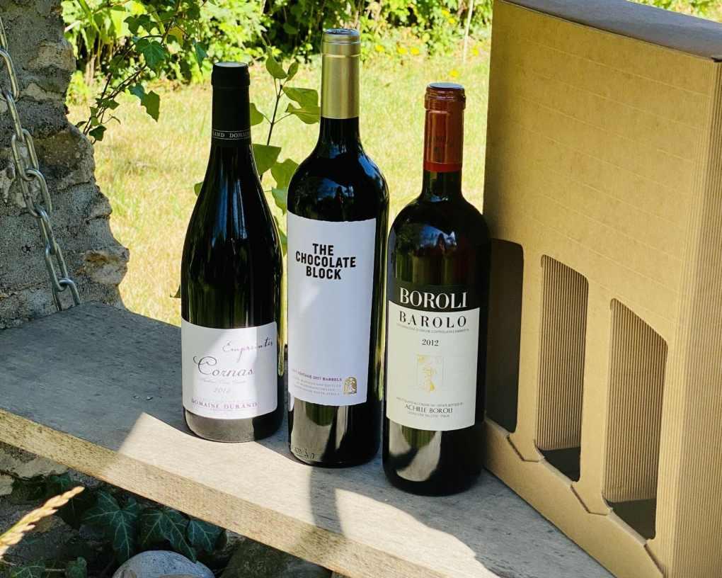 Nos coffrets de vins