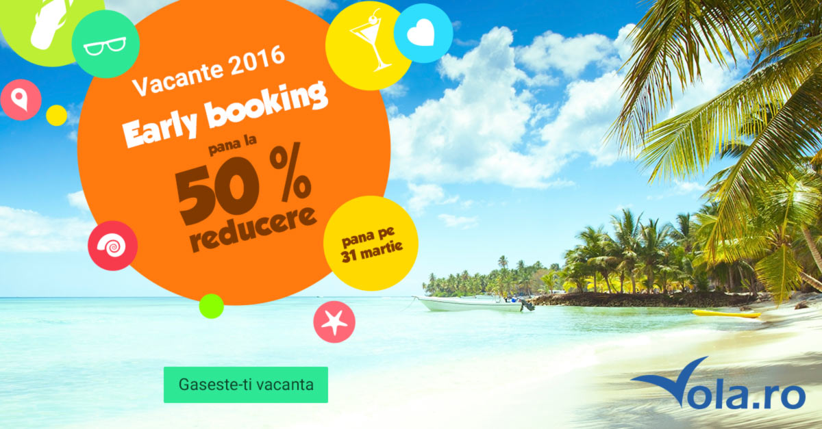 Vacante  2016 early booking