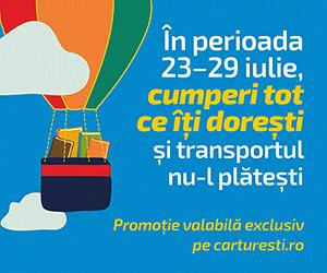 Promotii speciale la Carturesti.ro si Transport Gratuit