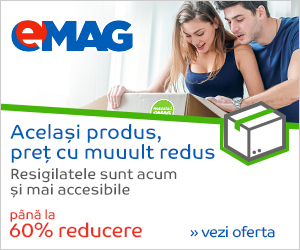 Emag – Reduceri la resigilate cu preţuri scăzute pana la 60%