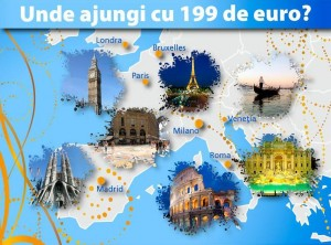 City break sub 199 EUR catre una din top 10 capitale europene – avion + hotel