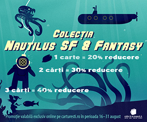 Promotie Nemira Nautilus SF & Fantasy pana la 40% reducere