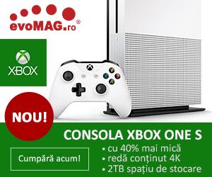 NOU! Consola Xbox One S la precomanda