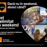 Orange oferă internet 4G nelimitat  în fiecare weekend