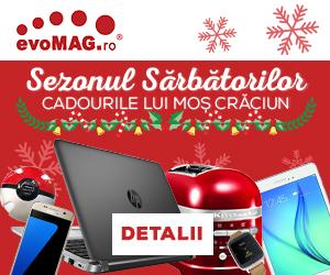 Promotii la evomag pentru cadourile de Mos Craciun