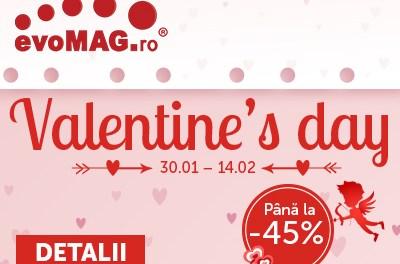 De valentine's day evoMag va asteptata cu reduceri de pana la 45%