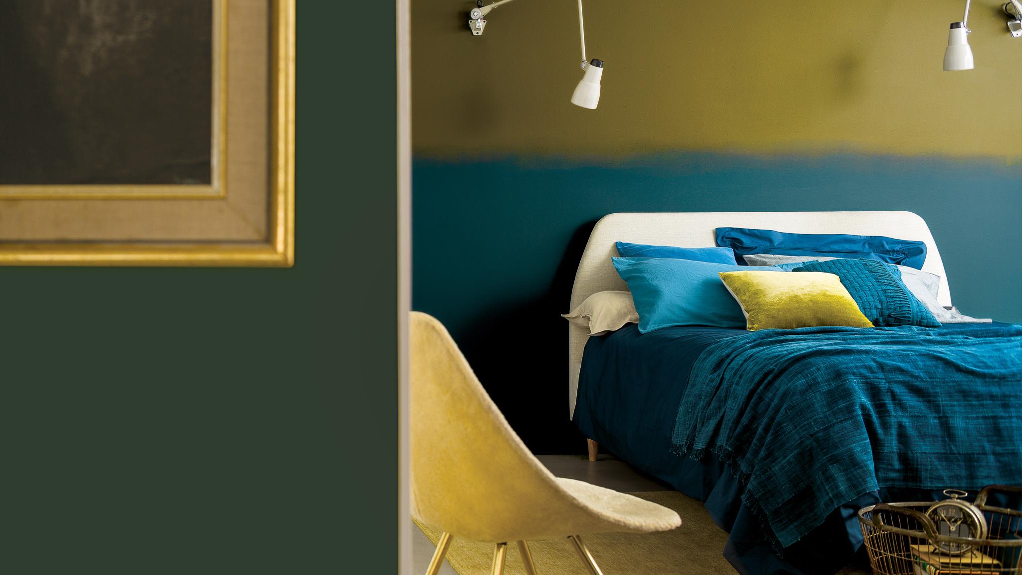 couleur dans la chambre a coucher 5
