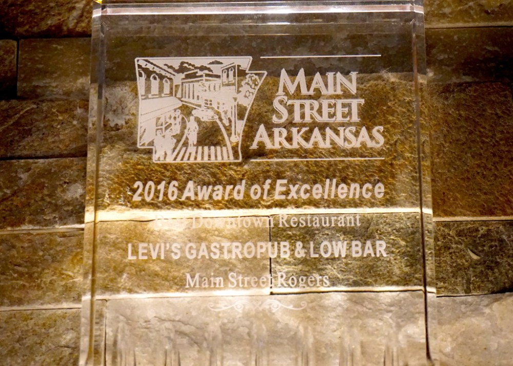 Levis Rogers Award Winning Restaurant