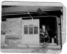 Former Station Master Walter Artley